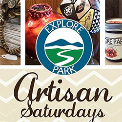 Artisan Saturday at Explore Park