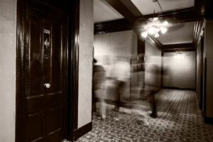 Haunted Halloween in your Daleville Apartment