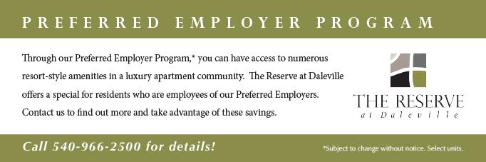 Daleville Employer Program