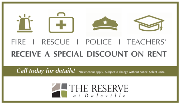 Daleville Special Offers